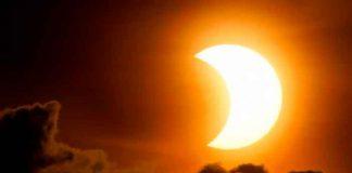 mundo, hemisferio norte, eclipse solar, espectaculo, naturaleza,