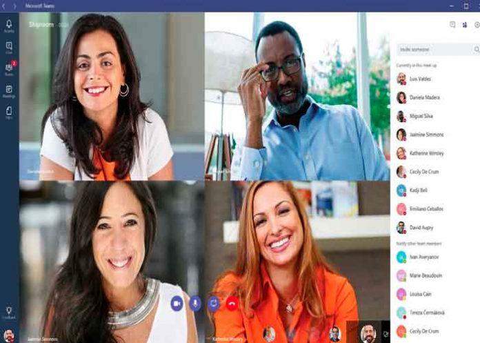 Microsoft , Teams, videollamada, diseño,