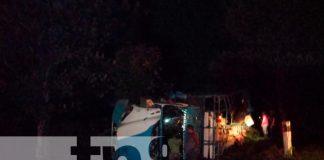 Nicaragua, Chontales, accidente, camión ganadero,