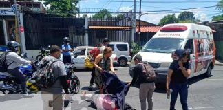 nicaragua, managua, accidente, invasion de carril, bolonia,