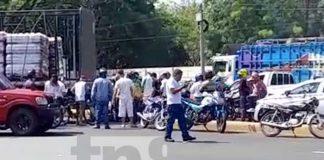 nicaragua, accidente, carretera norte, motociclistas, camion, managua,