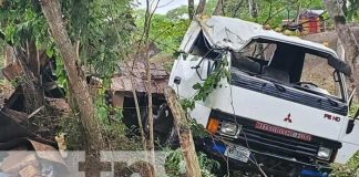 nicaragua, accidente, nueva segovia, el jicaro, camion,