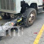 nicaragua, accidente, san fernando, nueva segovia, moto, camion,