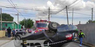 nicaragua, taxi, accidente, managua, vuelco,