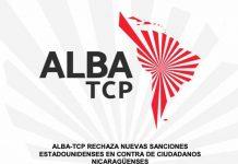 nicaragua, alba tcp, sanciones, derecho, estados unidos, condena,