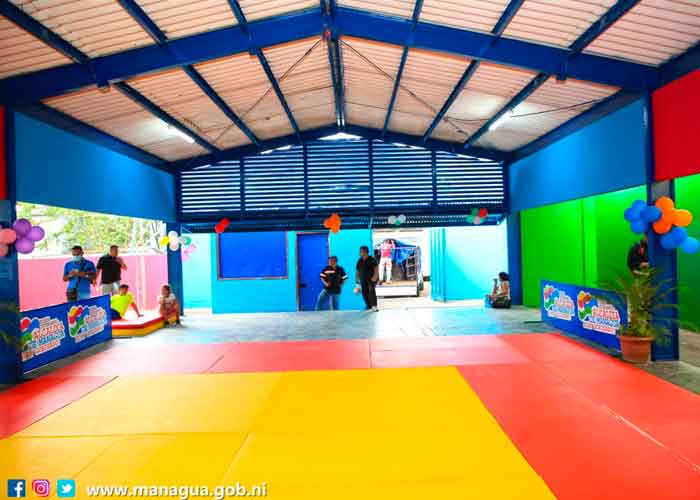 Nicaragua, managua, alcaldía, nueva academia de Judo