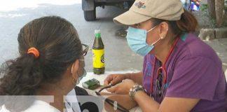 nicaragua, salud, clinica movil, atencion, barrio jonathan gonzalez,
