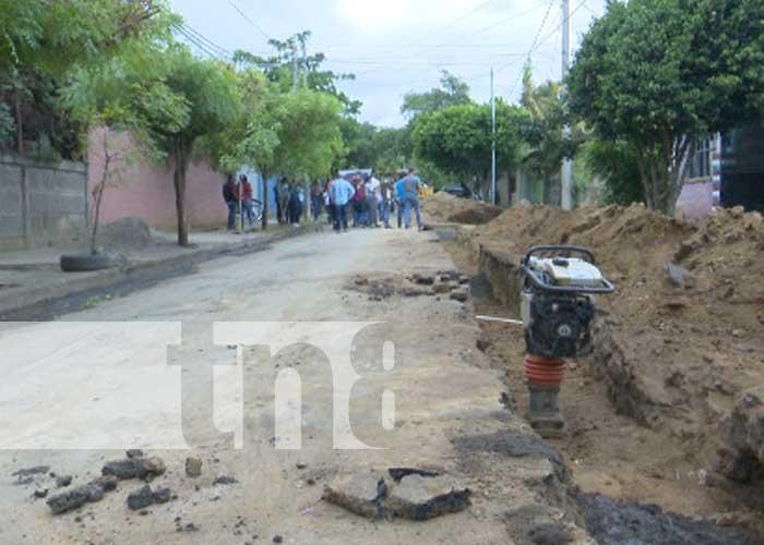 nicaragua, managua, batahola sur, agua, drenaje,