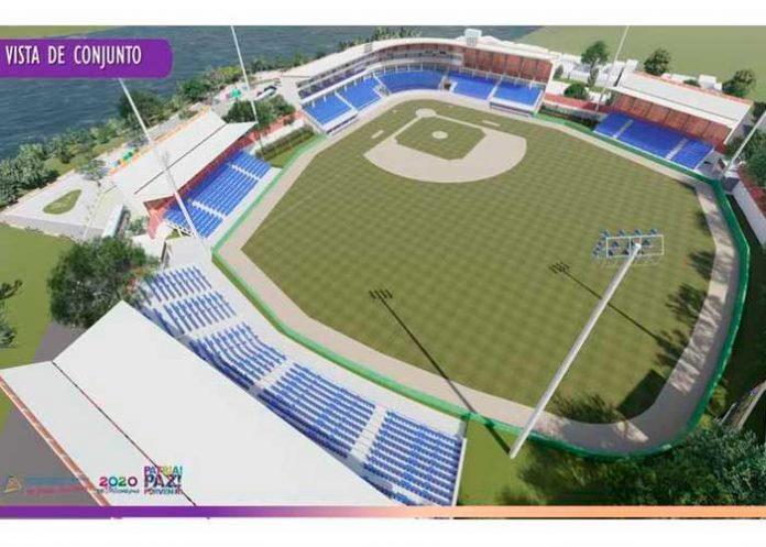 Nicaragua, Masaya, nuevos proyectos, Estadio de Béisbol,