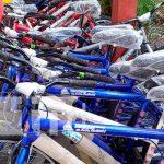nicaragua, chinandega, bicicletas, maestros, campo,