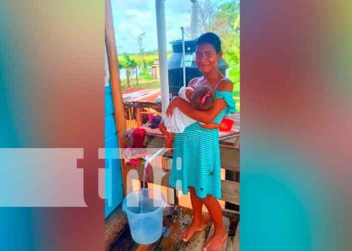 Nicaragua, caribe norte, agua potable, comunidad indígena