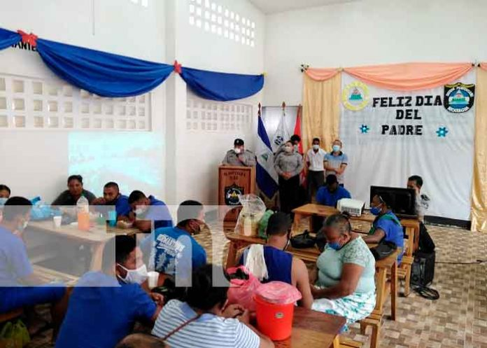 Nicaragua, día del padre, bluefields, Centro Penitenciario