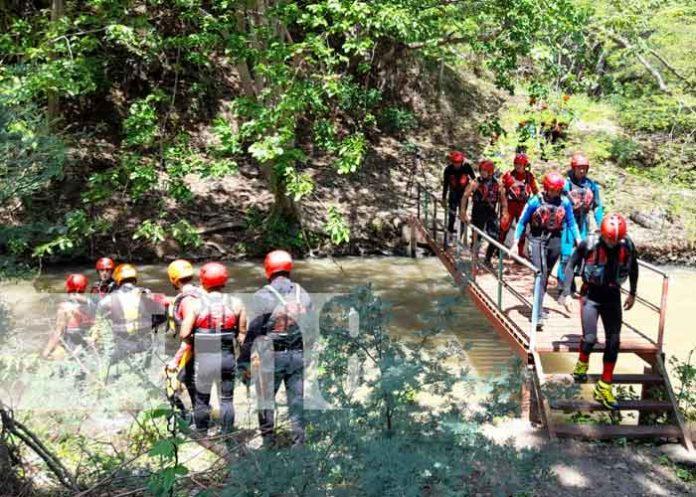 nicaragua, bomberos, capacitacion, aguas, rescate,
