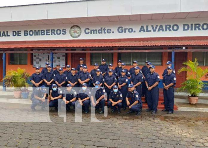 nicaragua, bomberos, masaya, capacitacion, atencion,