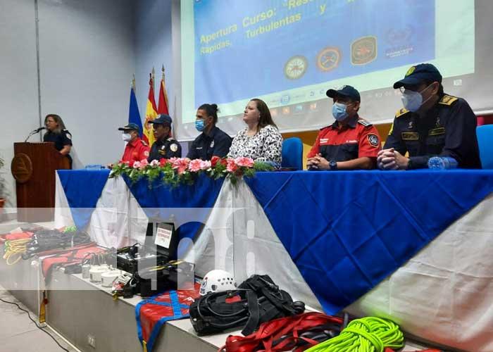 nicaragua, bomberos, capacitacion,