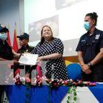 Nicaragua, bomberos, clausura, curso,