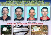 nicaragua, delincuentes, los artola,