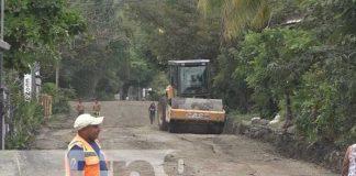 nicaragua, calles, matiguas, reparacion, alcaldia,