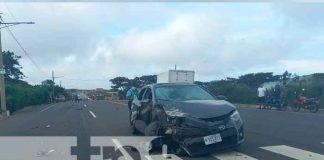 nicaragua, carazo, accidente, lesionado, policia, cruz roja, conductor,