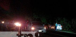 Nicaragua, Carazo, accidente de tránsito, daños materiales,
