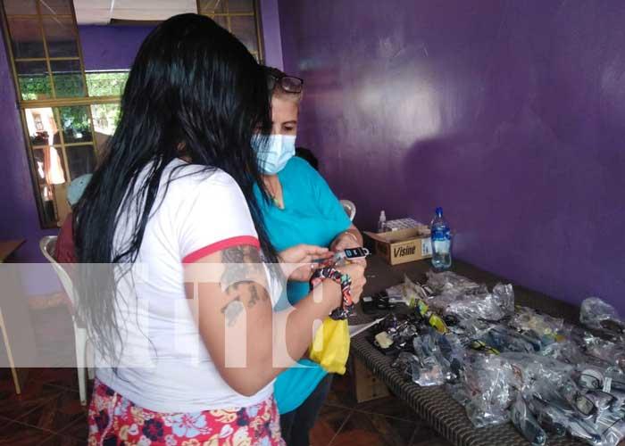 nicaragua, barrio santa ana, salud visual, acahualinca, managua,