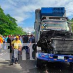 camion, camioneta, accidente, nicaragua, chontales,