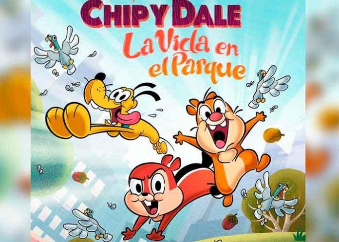 Cine, Disney, serie, ardillas 'Chip y Dale'