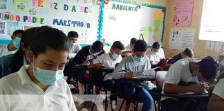 nicaragua, estudiantes, clases, certamen, ensenanza,