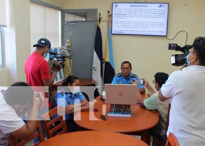 Nicaragua, Bluefields, policía, conferencia ,