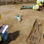 roma, descubrimiento, cuerpos, decapitados, cementerio,