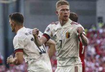 De bruyne, Belgica, Dinamarca, Eurocopa, futbol