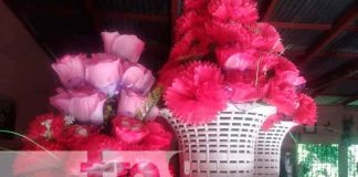 Nicaragua, Camoapa , floristería, emprendimiento,