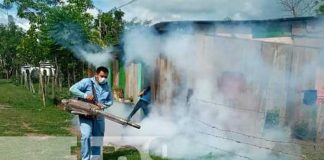 nicaragua, fumigacion, salud, matiguas, minsa,