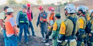 mexico, cuerpo, trabajador, mina,