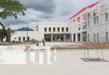 Nicaragua, ocotal, obras de construcción, nuevo hospital regional,