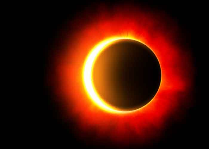 eclipse, América del Norte, NASA, anillo de fuego,