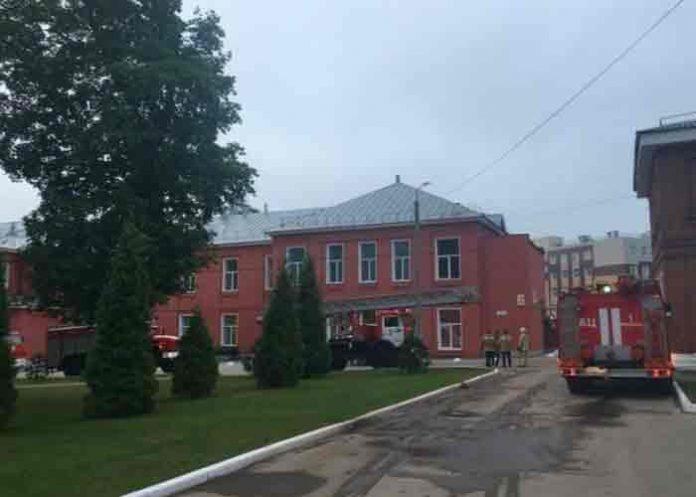 rusia, incendio, hospital,