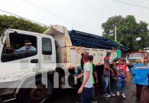 Nicaragua, Managua , incendio familias, materiales de construcción,