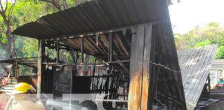 nicaragua, incendio, bomberos, managua