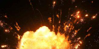 Serbia, Cacak, incendio, fábrica de municiones, explosiones,