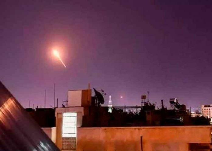 Siria, ataque aéreo, damasco, unidades de defensa,