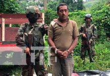 Nicaragua, Jalapa, ejército, narcotráfico,