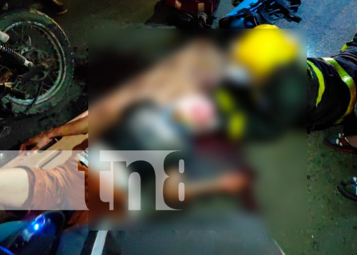 Nicaragua, juigalpa, accidente, motociclista