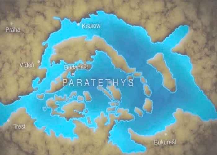 lago, Paratethys, lago más grande, desapareció,