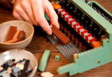 tendnecia, lego, maquina de escribir, juegos, steve guinness, lego ideas,