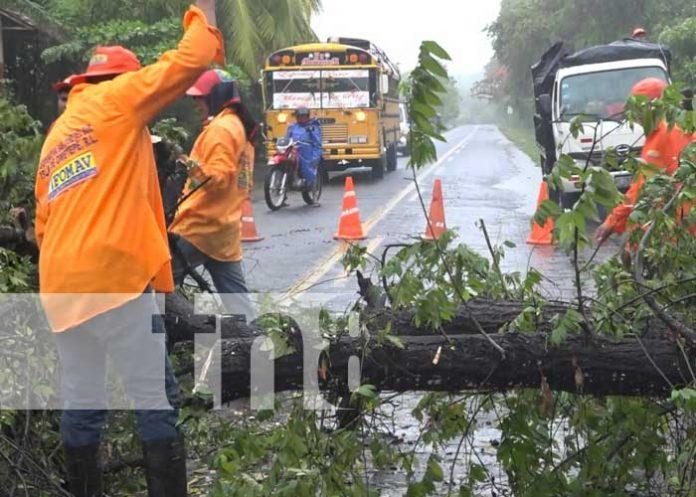 nicaragua, lluvias, ometepe, afectaciones, invierno,