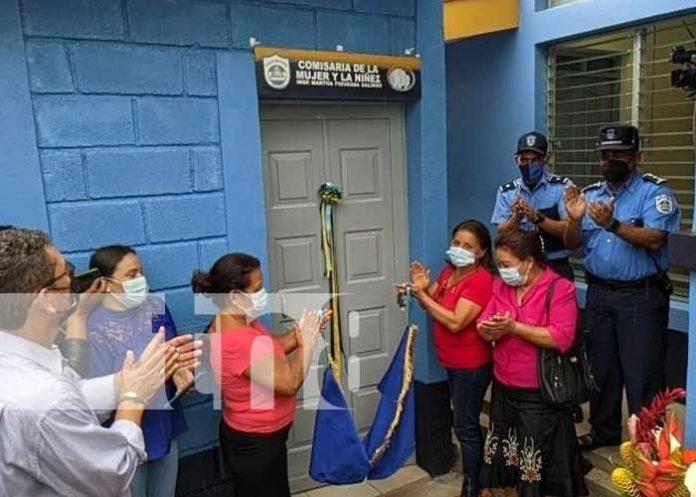 nicaragua, mujeres, seguridad, comisaria, san lucas, madriz,