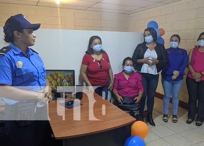 nicaragua, mujeres, seguridad, comisaria, san lucas, madriz, mujer,