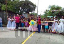nicaragua, calles, managua, barrio carlos nunez, progreso,