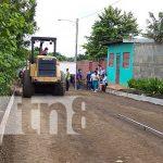 nicaragua, calles, managua, construccion, barrio marcos somarriba,